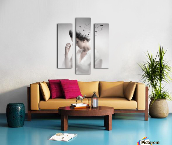 Give them life Canvas print