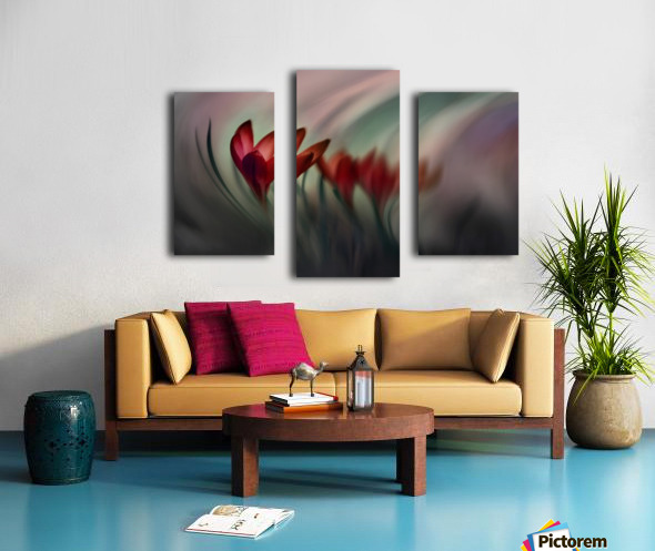 Krokus Canvas print