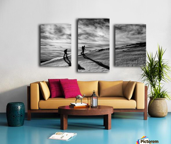 Step by step Canvas print