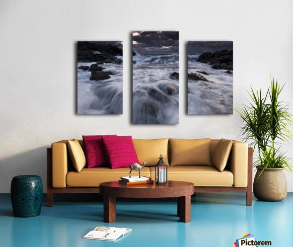 Furious Canvas print
