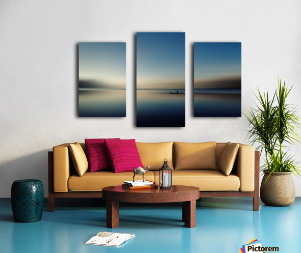 alone in somewhere Canvas print