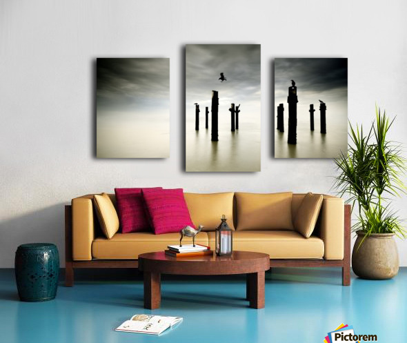The Sentinels Canvas print