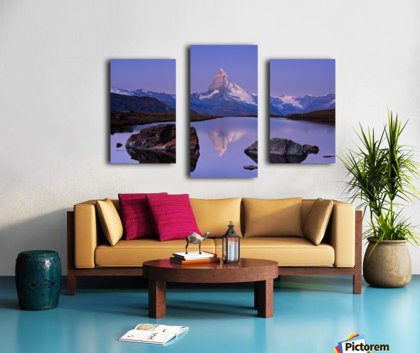 The first touch Canvas print