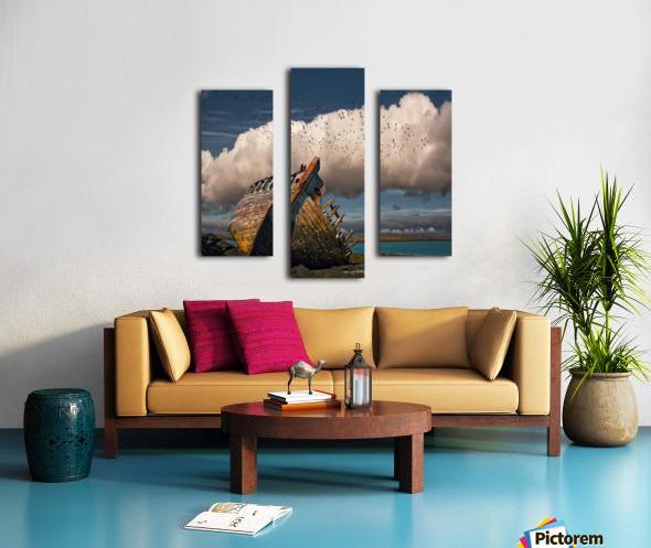 Placid Canvas print