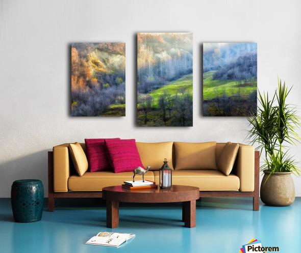 November colors Canvas print