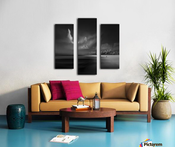 Sea Shore View Canvas print