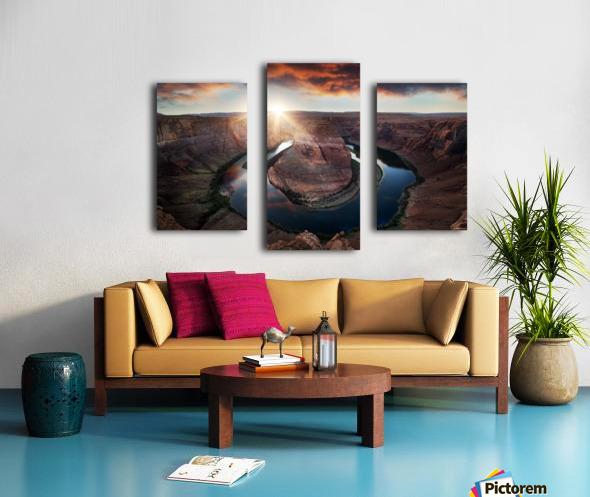 Horseshoe Bend Canvas print