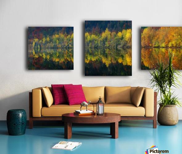 Autumnal silence Canvas print
