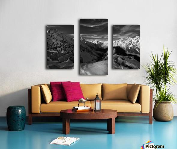Spectrum of Light Canvas print