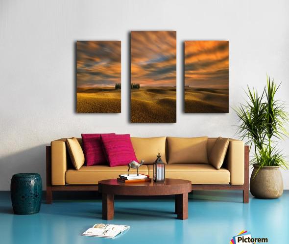 Cypresses... Canvas print