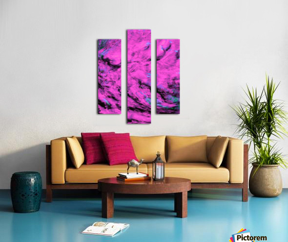 Pink Pyre Canvas print