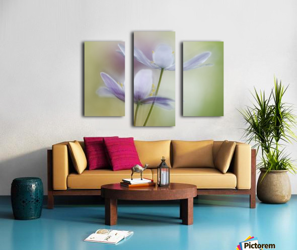 Two of a kind Canvas print