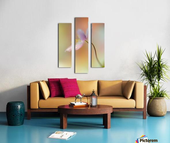 Tender spring Canvas print