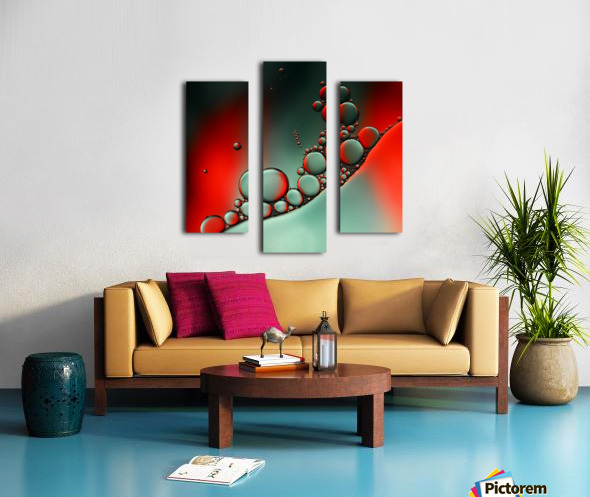 Color adaptation Canvas print