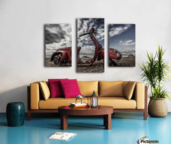 Framed Memories Canvas print