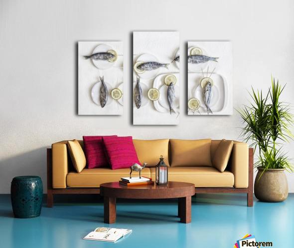 Still Life with Fish Canvas print