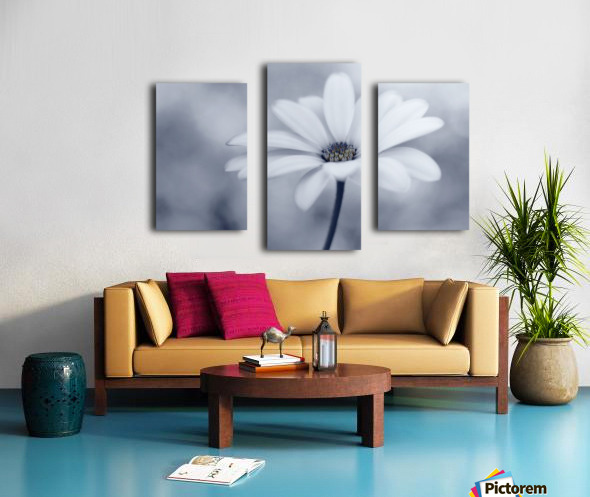 Blue tones Canvas print
