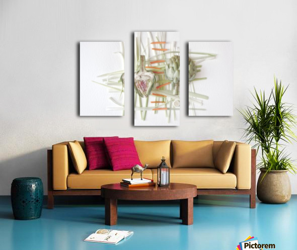 ART.ichoke - 2 Canvas print