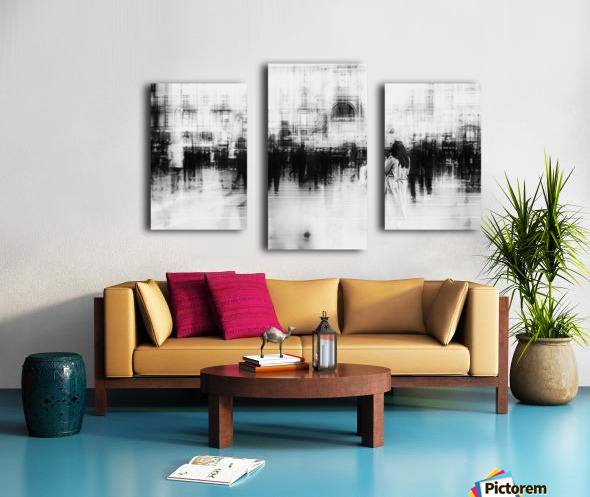 Lost among ghosts Canvas print