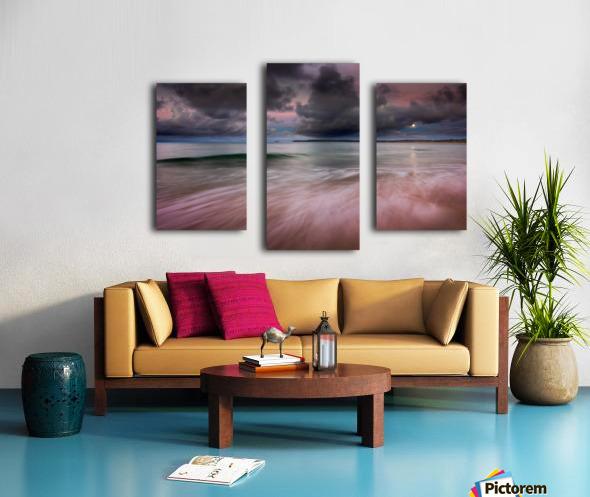 Carbis Bay moonlight Canvas print