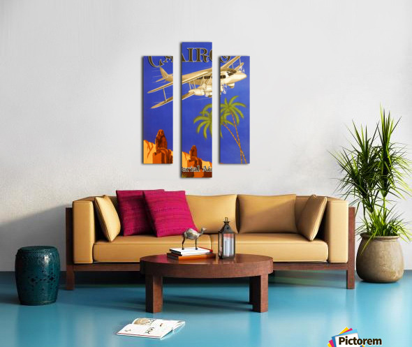 Cairo By Imperial Airways Canvas print