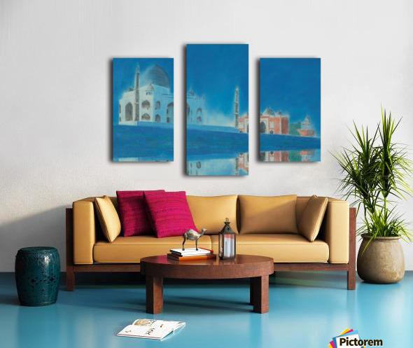 Taj. Canvas print