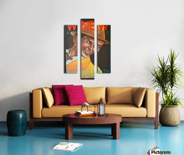 WNEW Canvas print