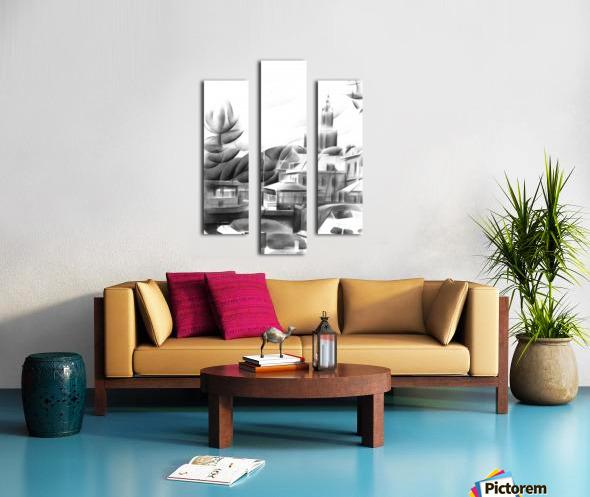 Vlaardingen - 14-09-16 Canvas print