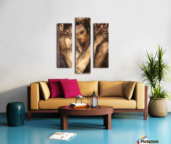 Muse 2 Canvas print