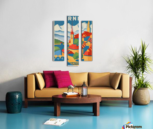 Berne Switzerland Canvas print