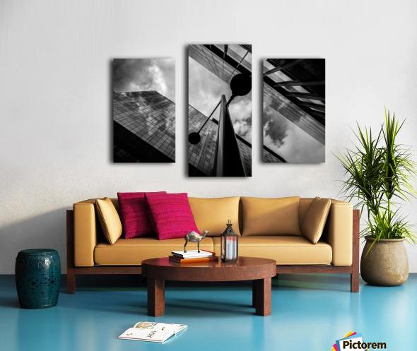W&B Canvas print