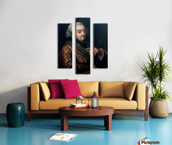 Autoportrait Canvas print