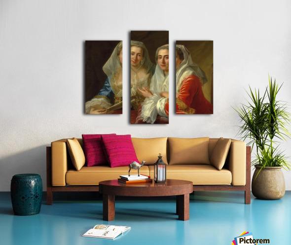 The Mirabita Sisters Canvas print