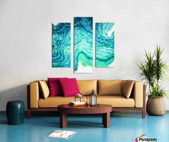 Ocean Floor Canvas print