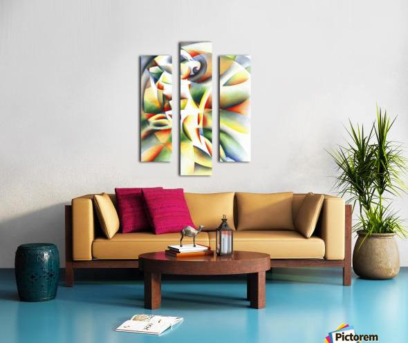 Roundism - 12-10-16 Canvas print