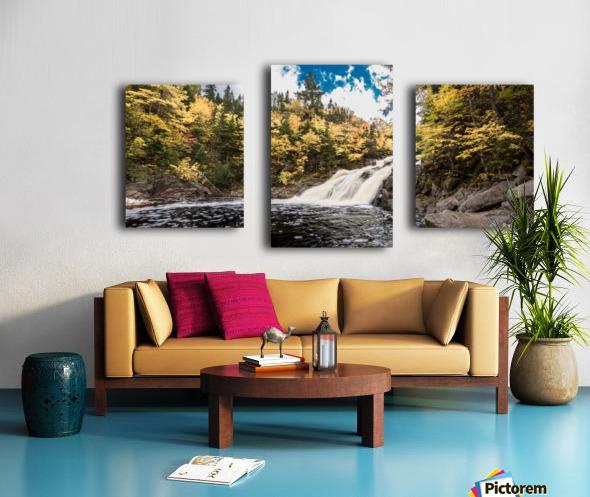 Colorful Mary Ann Falls Canvas print