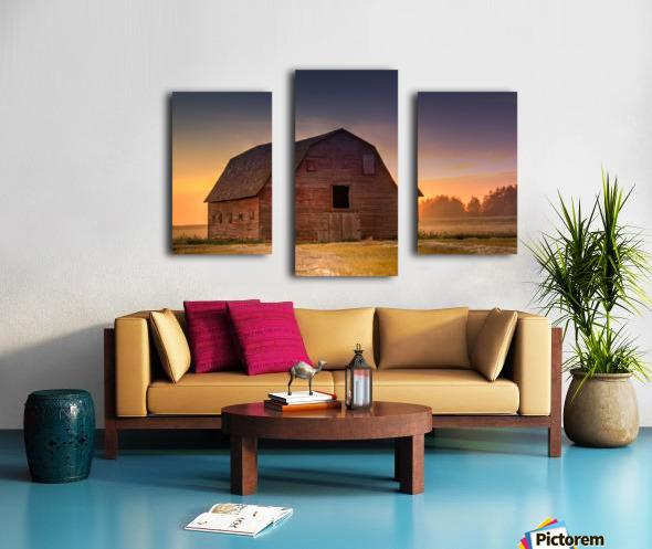 Rickety Barn Canvas print