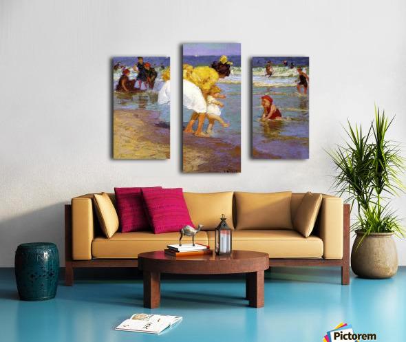 At the Seashore Canvas print