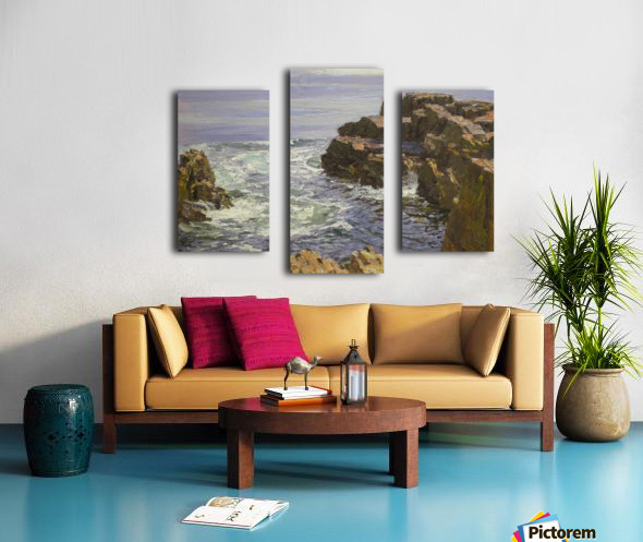 The Breaking Wave Canvas print