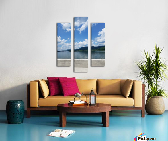 Looking Out Over Water Canvas print