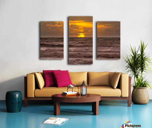 Fire & Water III Canvas print