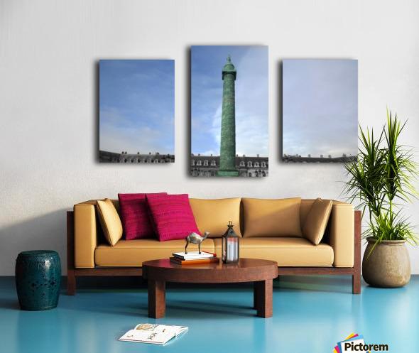 Paris Vendome Canvas print