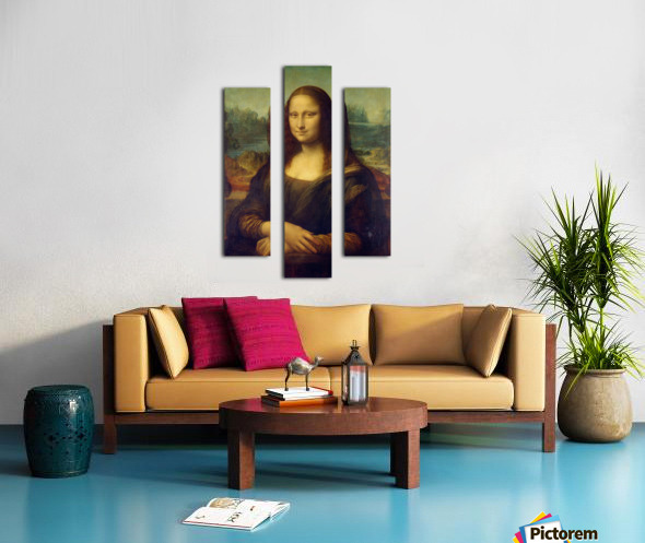 Mona Lisa Leonardo Da Vinci La Gioconda Oil Painting Canvas print