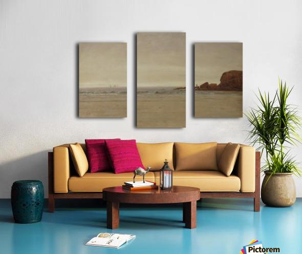 Beach and Rocks Canvas print