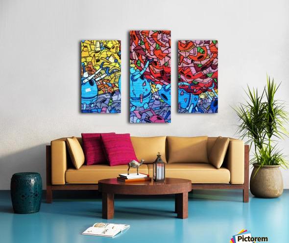 graffiti 569265 Canvas print