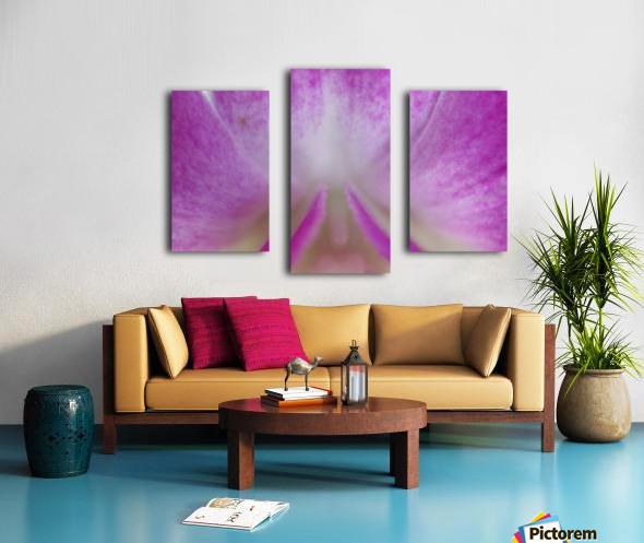 purpletongue2 Canvas print