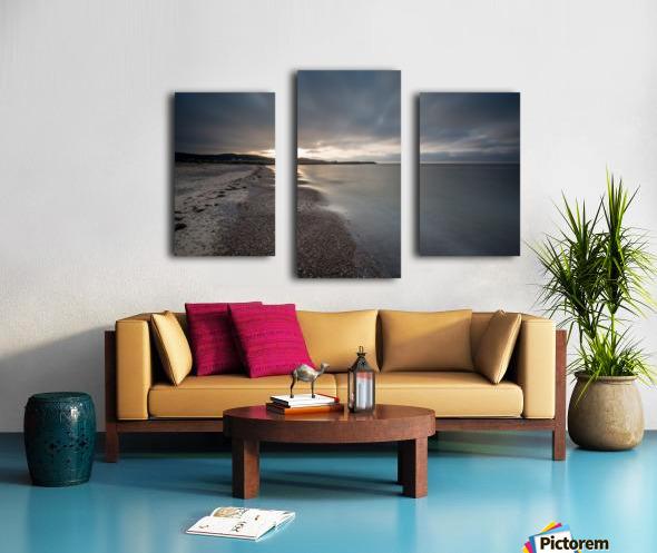 Belle Cote Beach at Sunset Canvas print
