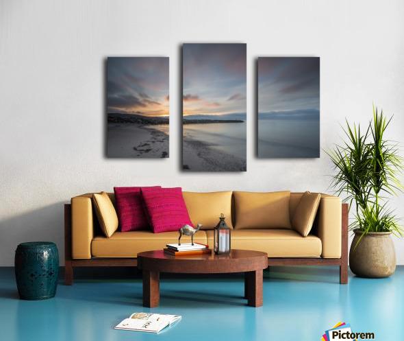 Belle Sunset Canvas print