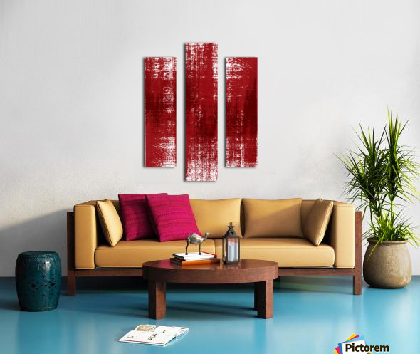 Red Texture Canvas print