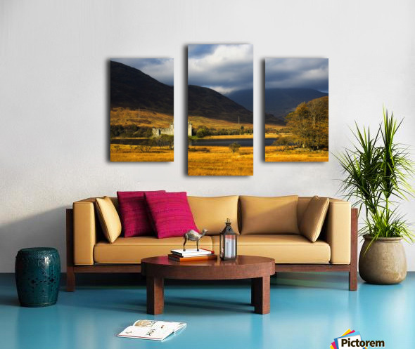Kilchurn Castle, Loch Awe, Scotland Canvas print